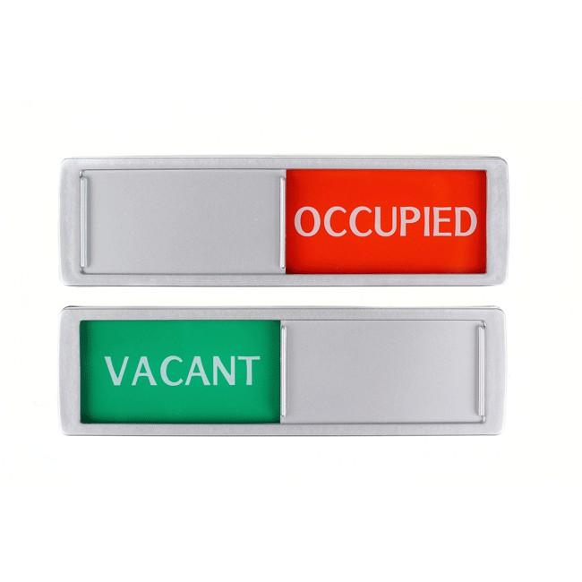 Vaccant - Occupied schuifbordje XL De...