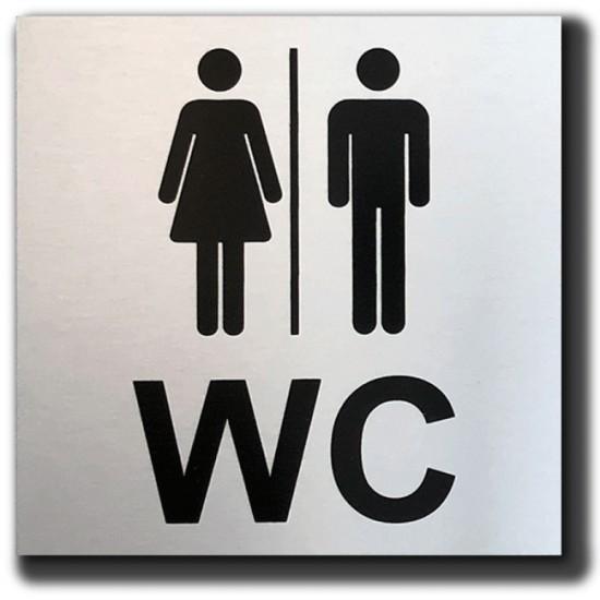 Toilet deurbordje Dames...