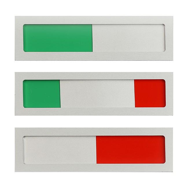 Groen - Rood zonder tekst...