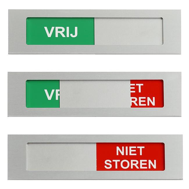 Vrij - Niet Storen schuifbordje 170...