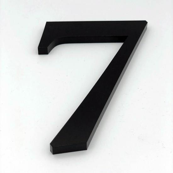 Huisnummer 7 Zwart Groot...