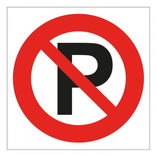 Verboden te parkeren...